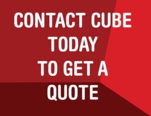 Contact Cube button